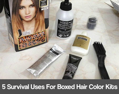 5 Survival Uses for Boxed Hair Color Kits - Page 2 of 2 - Mental Scoop