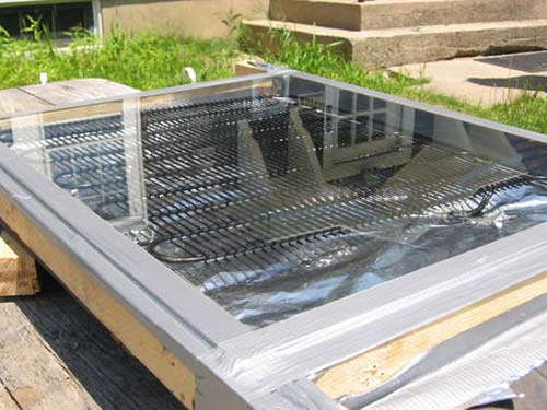 Solar Thermal Water Heater For Less Than Five Dollars