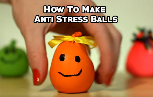 diy antistress ball how to make anti stress balls mental scoop. Black Bedroom Furniture Sets. Home Design Ideas