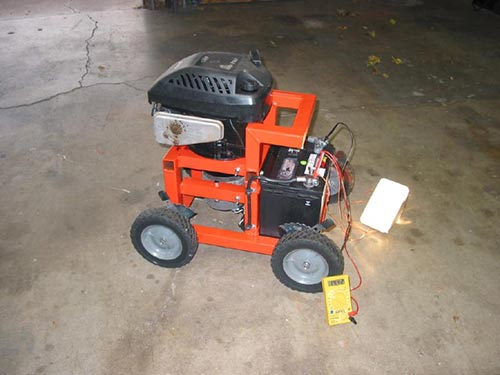 How To Convert An Old Lawnmower Into A Powerful Home