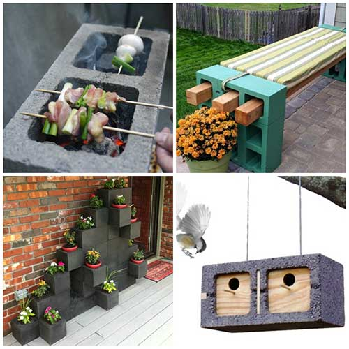 20 Creative Cinder Block Projects To Make Your Home And