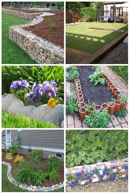 10 brilliant garden edging ideas you can do at home